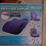 Space Foam – Back & Seat Support